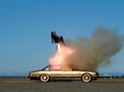 Goldfinger Ejection Seat | Mythbusters - YouTube