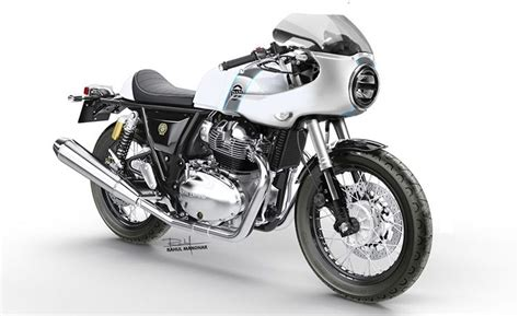 RE Continental GT 650 Rendered With Cafe Racer Design And