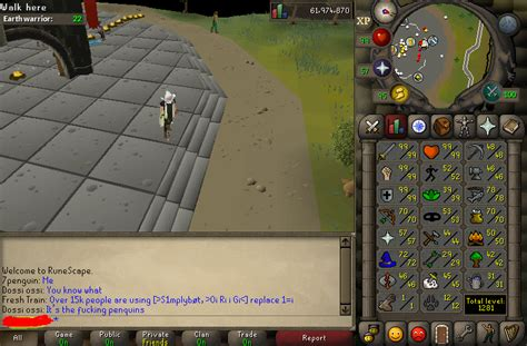 Max Melee Account - OSRS - powerbot