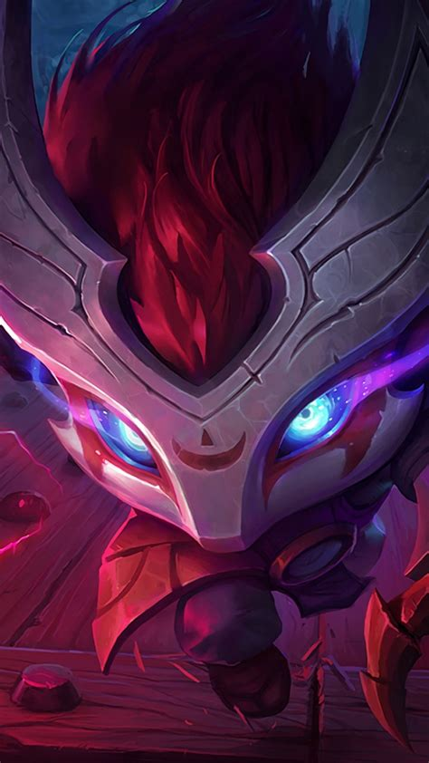 Wallpaper League of Legends, game, lol, MOBA, blood moon