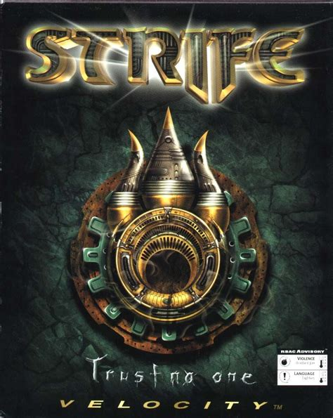 """I can't hear the word """"Strife"""" without thinking of"""
