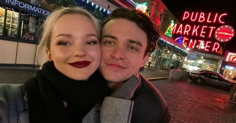 Who Is Dove Cameron Dating? Thomas Doherty Is Her Boyfriend
