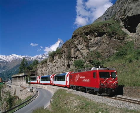 Glacier Express, the slowest express train in the world