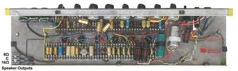 The VOX Showroom - Vox Top Boost Circuit - A Look Under