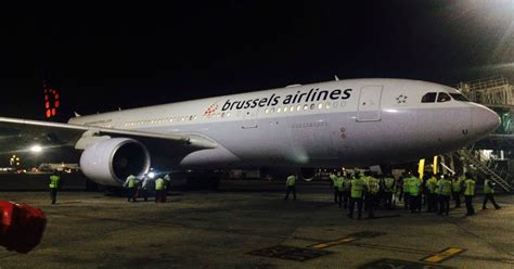 Brussels Airlines - First Flight To Mumbai - Plane
