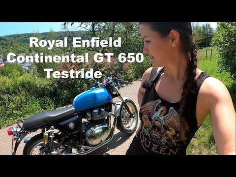Royal Enfield 650 Continental GT Review   Interceptor Test