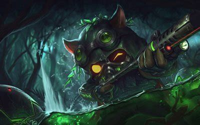Download wallpapers Teemo, monster, characters, League Of