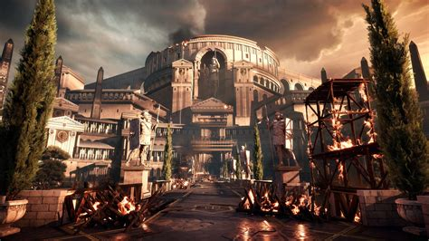 New Ryse screens, details and video