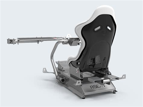 RSEAT S1 White/Silver – RSEAT Gaming seats, Cockpits and