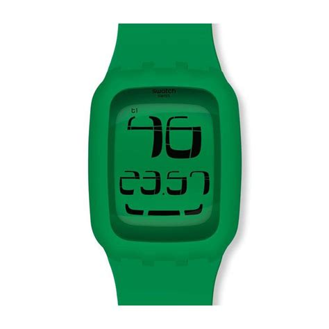 SWATCH TOUCH GREEN