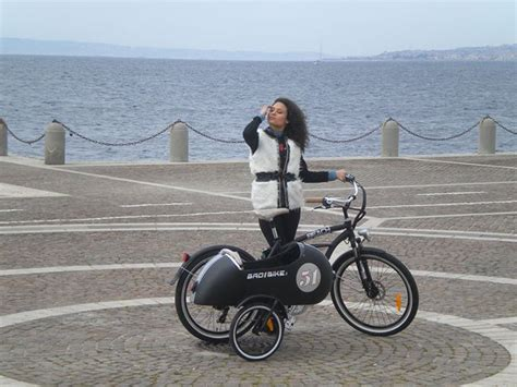 An Electric Sidecar Bicycle, How Cool Is That? - autoevolution