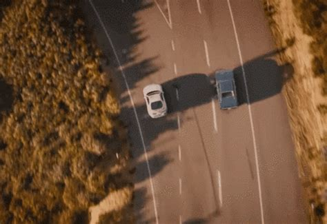 'When I see you again!' - runaway tyre gets the perfect