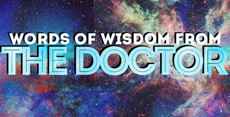 Best 'Doctor Who' quotes: Words of wisdom from the Doctor