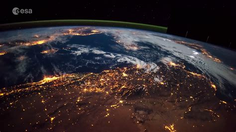ESA - A time-lapse view of Earth from the Space Station