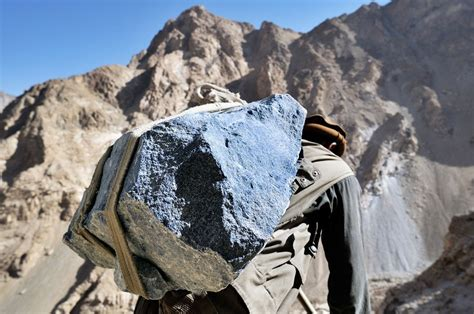 Afghan famous lapis mines funding Taliban, armed groups