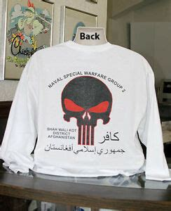 US Navy Seals Punisher Long Sleeve T-Shirt Naval Special